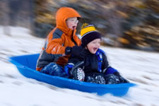 Local Sledding Locations